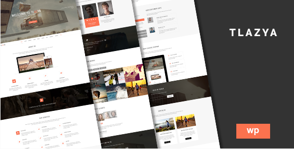 Tlazya One Page WordPress Theme